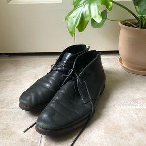 Vintage Black Booties